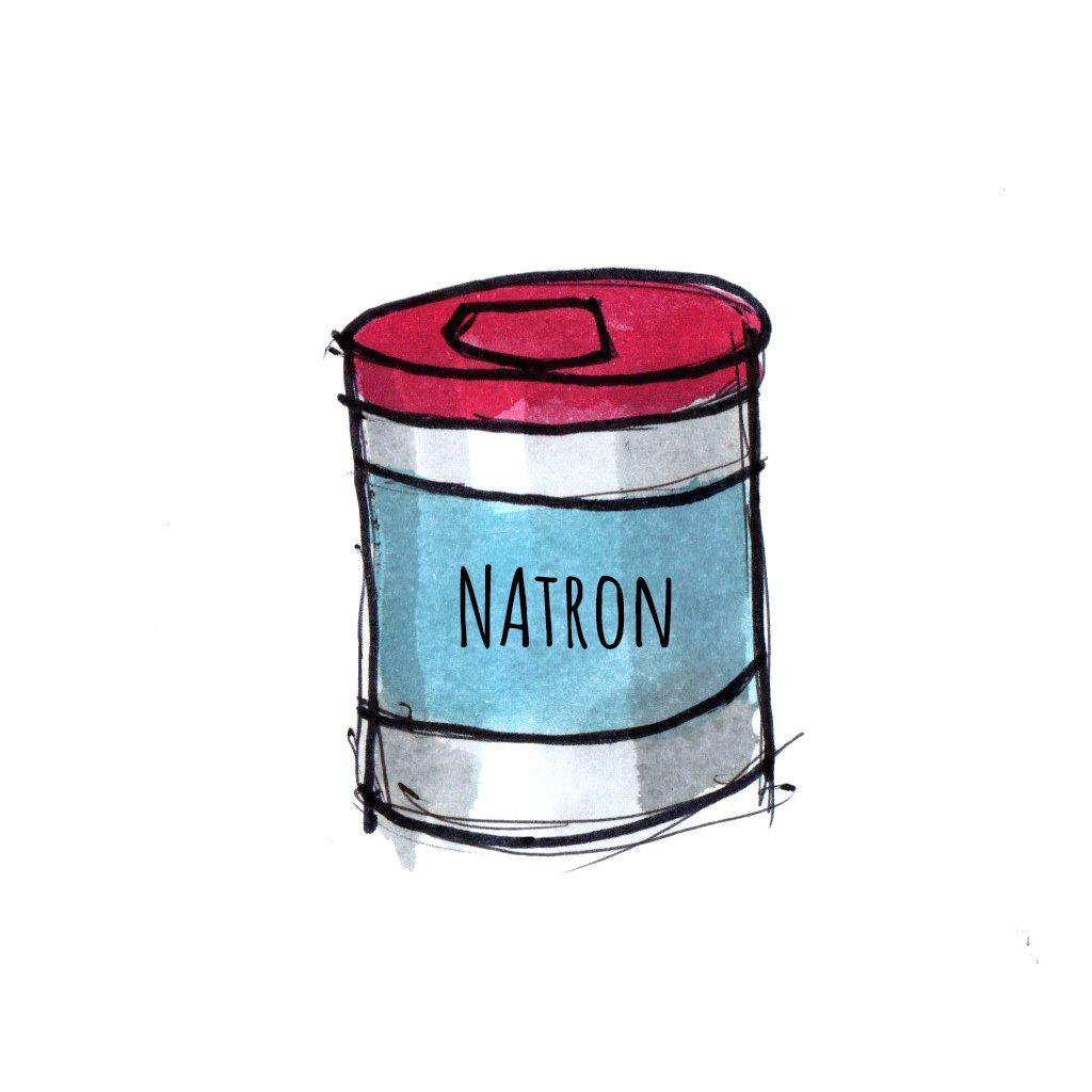 Natron er et must have i hjemmet når der skal eksperimenteres med sjove science forsøg