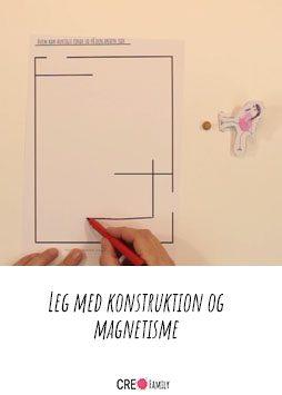 Leg med konstruktion og magnetisme A