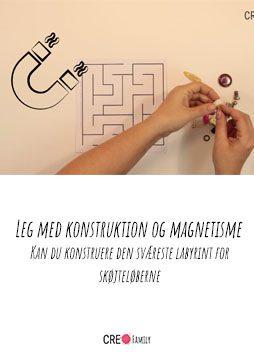 Leg med konstruktion og magnetisme- Kan du konstruere den sværeste labyrint for skøjteløberne