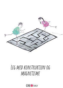 Leg med konstruktion og magnetisme
