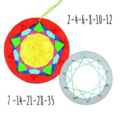 Kan du lave smukke mønster ved hjælp af talmønstre