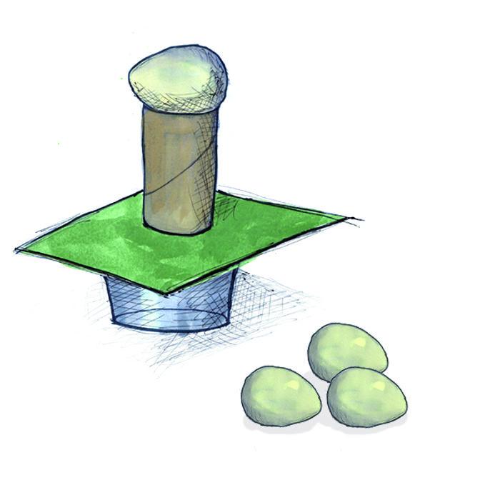 Tør du slå papiret væk under æggene – Leg og lær om Newtons første lov
