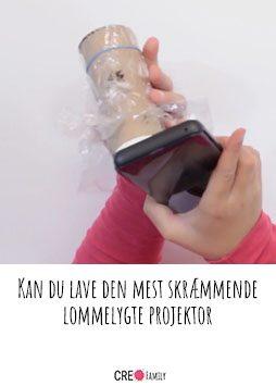 Kan du lave den mest skræmmende lommelygte projektor c