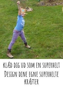 klæd dig ud som en superhelt b