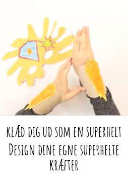 klæd dig ud som en superhelt c