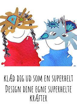 klæd dig ud som en superhelt