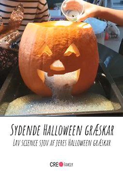 Sydende Halloween græskar A
